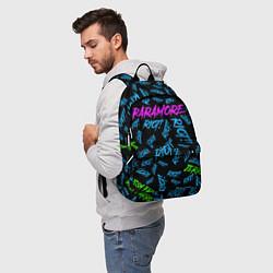 Рюкзак Paramore RIOT! цвета 3D-принт — фото 2