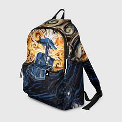 Рюкзак Van Gogh Tardis цвета 3D — фото 1