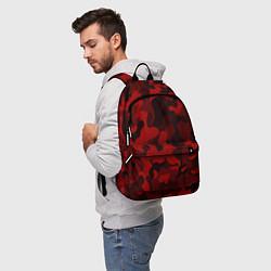 Рюкзак RED MILITARY цвета 3D-принт — фото 2