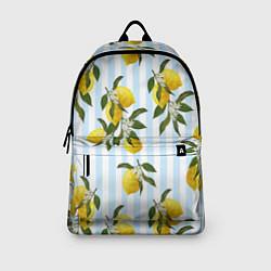 Рюкзак Лимоны цвета 3D-принт — фото 2