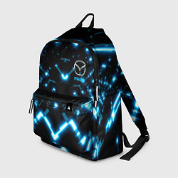 Рюкзак MAZDA цвета 3D-принт — фото 1