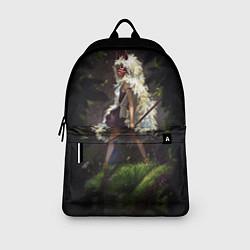 Рюкзак Принцесса Мононоке цвета 3D-принт — фото 2