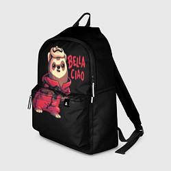 Рюкзак Bella Ciao цвета 3D-принт — фото 1