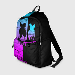 Рюкзак FORTNITE MARSHMELLO цвета 3D-принт — фото 1