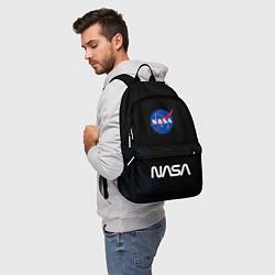 Рюкзак NASA НАСА цвета 3D-принт — фото 2