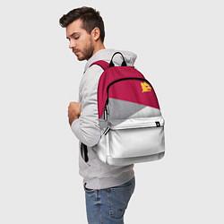 Рюкзак AS Roma Red Design 2122 цвета 3D-принт — фото 2