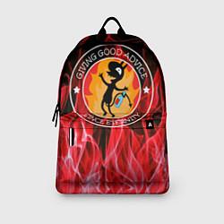 Рюкзак FIRE цвета 3D-принт — фото 2