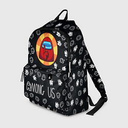 Городской рюкзак с принтом AMONG US, цвет: 3D, артикул: 10274726905601 — фото 1