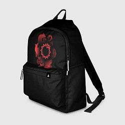 Рюкзак 7 смертных грехов цвета 3D-принт — фото 1