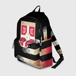 Рюкзак Сборная Сербии цвета 3D-принт — фото 1