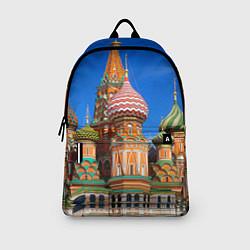 Рюкзак Храм Василия Блаженного цвета 3D-принт — фото 2