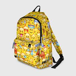Рюкзак Emoji цвета 3D-принт — фото 1