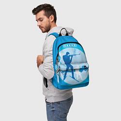 Рюкзак Биатлон цвета 3D-принт — фото 2
