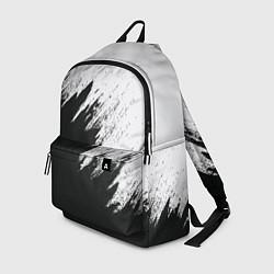 Городской рюкзак с принтом Черно-белый разрыв, цвет: 3D, артикул: 10098743905601 — фото 1