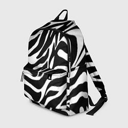 Рюкзак Зебра цвета 3D-принт — фото 1