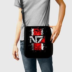 Сумка на плечо Mass Effect N7 цвета 3D-принт — фото 2
