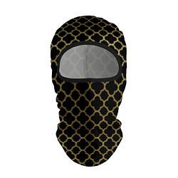 Балаклава Узор цвета 3D-черный — фото 1