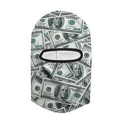 Балаклава Банкноты цвета 3D-черный — фото 2