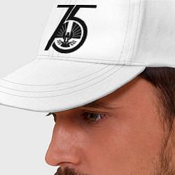 Бейсболка The Hunger Games 75 цвета белый — фото 2