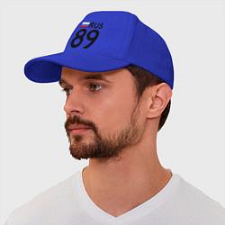 Бейсболка RUS 89 цвета синий — фото 1