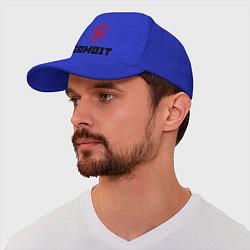 Бейсболка Gambit цвета синий — фото 1