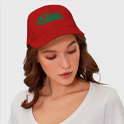 Бейсболка Sims цвета красный — фото 2