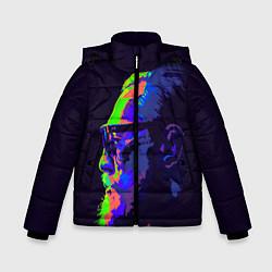 Детская зимняя куртка для мальчика с принтом McGregor Neon, цвет: 3D-черный, артикул: 10102380506063 — фото 1