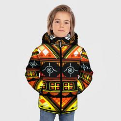 Куртка зимняя для мальчика Element ethnic цвета 3D-черный — фото 2
