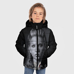 Куртка зимняя для мальчика Vikings: Ladgerda цвета 3D-черный — фото 2