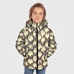 Куртка зимняя для мальчика Тоторо цвета 3D-черный — фото 2