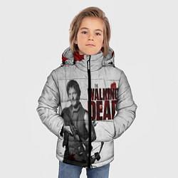 Куртка зимняя для мальчика Ходячий Дерил Диксон цвета 3D-черный — фото 2