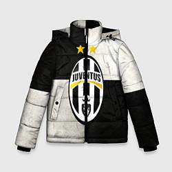 Куртка зимняя для мальчика Juventus FC цвета 3D-черный — фото 1