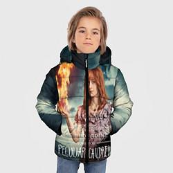 Куртка зимняя для мальчика Оливия Аброхолос Элефанта цвета 3D-черный — фото 2