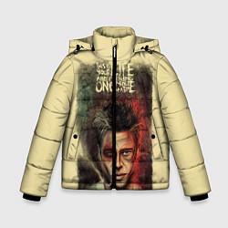 Куртка зимняя для мальчика This is your life цвета 3D-черный — фото 1