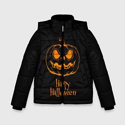 Детская зимняя куртка для мальчика с принтом Halloween, цвет: 3D-черный, артикул: 10108886906063 — фото 1