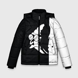Куртка зимняя для мальчика Grandfather: Black & White цвета 3D-черный — фото 1