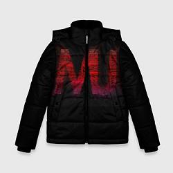 Куртка зимняя для мальчика Manchester United team цвета 3D-черный — фото 1