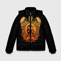 Куртка зимняя для мальчика Milan6 цвета 3D-черный — фото 1