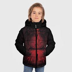 Куртка зимняя для мальчика Alien: Space Ship цвета 3D-черный — фото 2