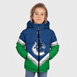 Куртка зимняя для мальчика NHL: Vancouver Canucks цвета 3D-черный — фото 2