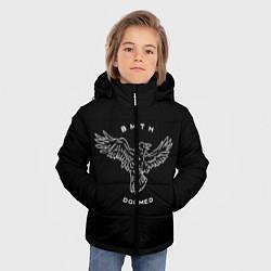 Куртка зимняя для мальчика BMTH: Doomed цвета 3D-черный — фото 2