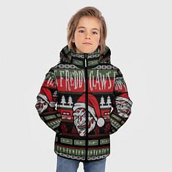 Куртка зимняя для мальчика Freddy Christmas цвета 3D-черный — фото 2