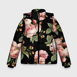 Куртка зимняя для мальчика TOP Roses цвета 3D-черный — фото 1