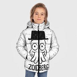 Куртка зимняя для мальчика Zoidberg цвета 3D-черный — фото 2