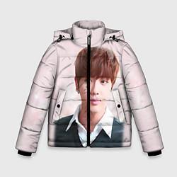 Детская зимняя куртка для мальчика с принтом Kim SeokJin, цвет: 3D-черный, артикул: 10114633706063 — фото 1
