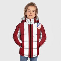 Куртка зимняя для мальчика Атлетико Мадрид цвета 3D-черный — фото 2