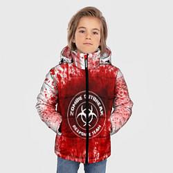 Куртка зимняя для мальчика Zombie Outbreak цвета 3D-черный — фото 2