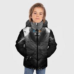 Куртка зимняя для мальчика Rengar LoL цвета 3D-черный — фото 2