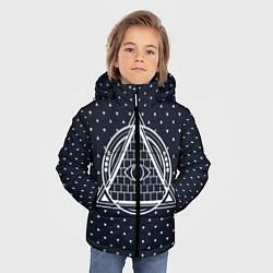 Куртка зимняя для мальчика Illuminati цвета 3D-черный — фото 2