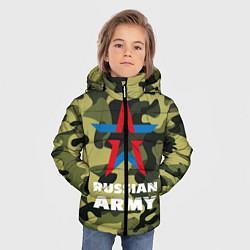 Куртка зимняя для мальчика Russian army цвета 3D-черный — фото 2